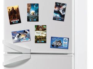 Виниловые магниты на холодильник в Самаре