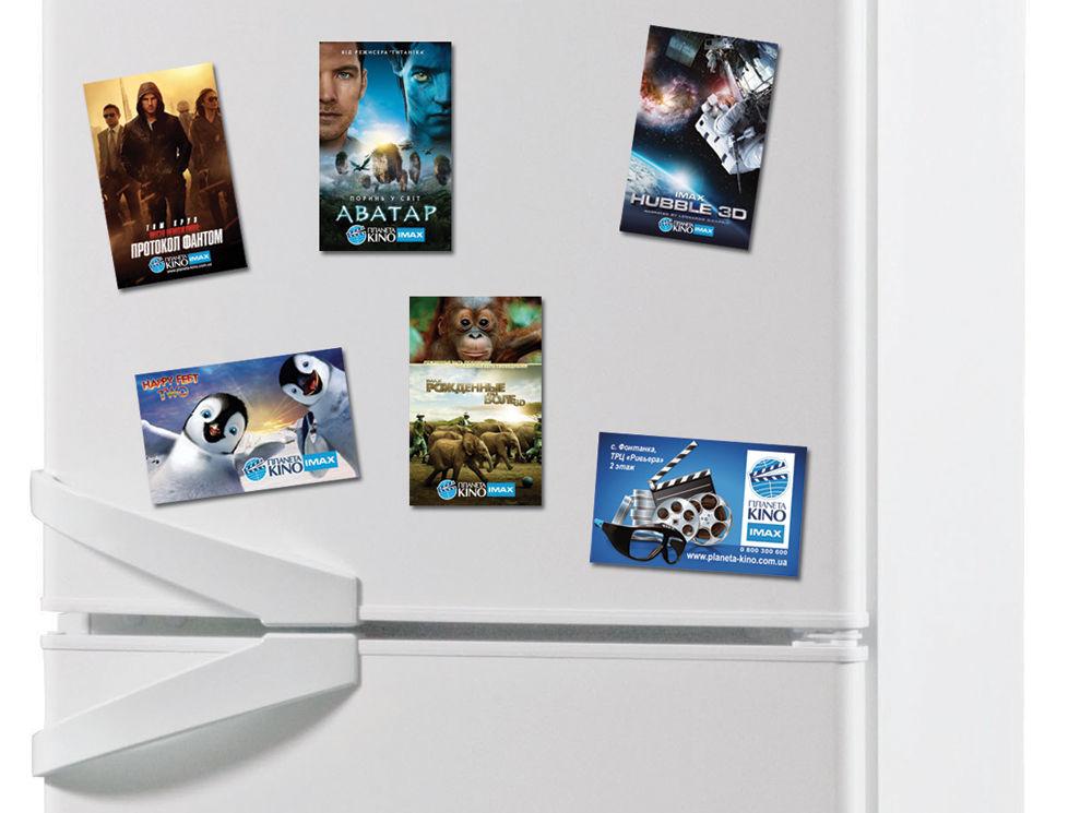 Виниловый магнит на холодильник