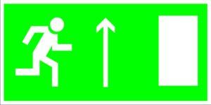 Е11 Направление к эвакуационному (вверх)
